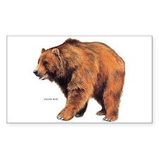 Kodiak Bear Animal Decal