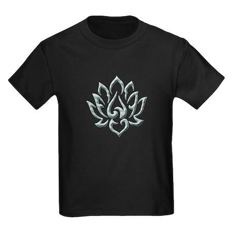 Lotus Flower Kids Dark T-Shirt