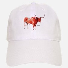 Longhorn Texas Cattle Baseball Baseball Cap