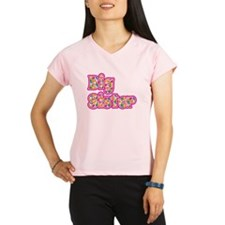 Big Sister Pink Peformance Dry T-Shirt