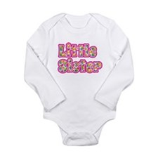 Little Sister Pink Body Suit