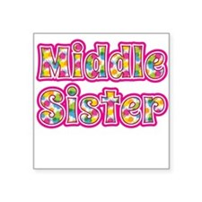 Middle Sister Pink Sticker