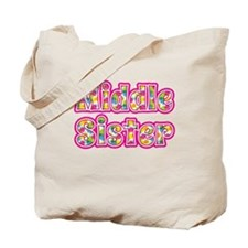 Middle Sister Pink Tote Bag