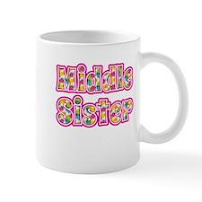 Middle Sister Pink Small Mug