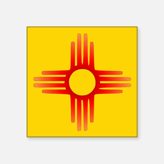 Zia Sun Symbol Sticker