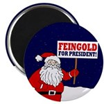Santa For Feingold Magnet