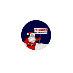 Santa For Feingold Mini Button