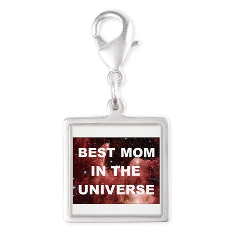 Mothers Day Best mom in the universe DARK Charms