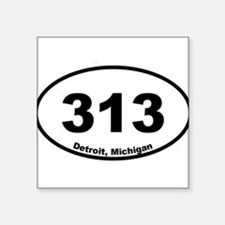 Detroit, Michigan Sticker