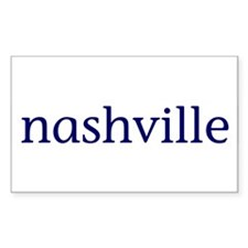 Nashville Rectangle Decal
