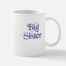 Big Sister Grunge Purple Small Small Mug