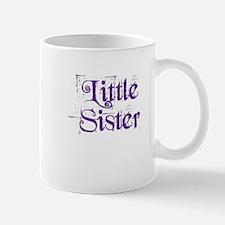 Little Sister Grunge Purple Small Small Mug