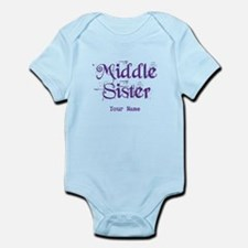 Middle Sister Grunge Purple - Personalized! Body S