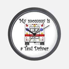 Taxi Driver Mommy Wall Clock