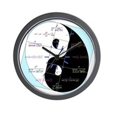 Golden Ratio Yin and Yang Math Clock Wall Clock