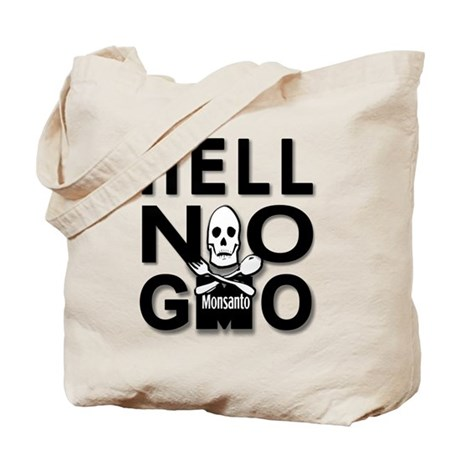HELL NO GMO Tote Bag