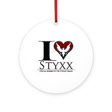 I Heart Styxx Ornament (Round)