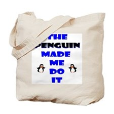 Blame the Penguin Tote Bag