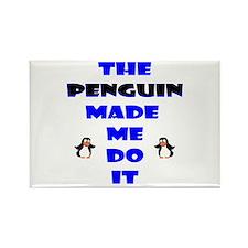 Blame the Penguin Rectangle Magnet