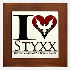 I Heart Styxx Framed Tile