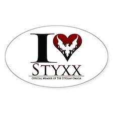 I Heart Styxx Decal