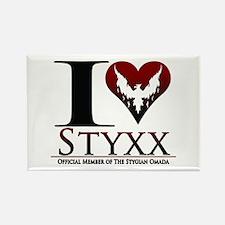 I Heart Styxx Rectangle Magnet