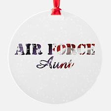 AF Aunt American Flag Ornament
