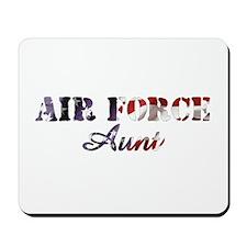 AF Aunt American Flag Mousepad