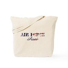 AF Aunt American Flag Tote Bag