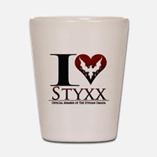 I Heart Styxx Shot Glass