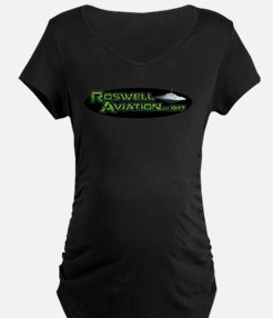 Roswell Aviation Maternity T-Shirt