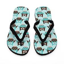 Cute Owl Lover Flip Flops