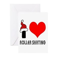 I Love Roller Skating Greeting Cards (Pk of 20)