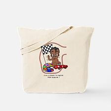 EGGBERT Black Car Driver Tote Bag
