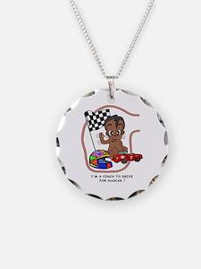 EGGBERT Black Car Driver Necklace