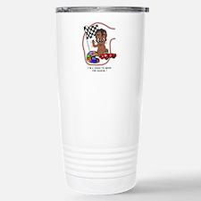 EGGBERT Black Car Driver Travel Mug