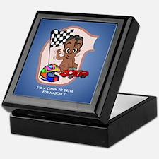 EGGBERT Black Car Driver Keepsake Box