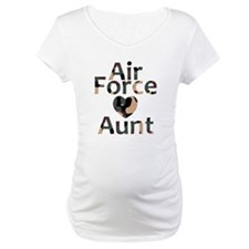 AF Aunt Camo Heart Shirt