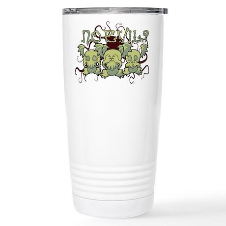 No Evil Cthulhu Travel Mug