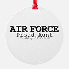 AF Proud Aunt Ornament