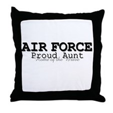 AF Proud Aunt Throw Pillow