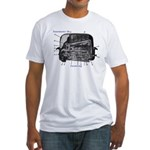Toaster.org Fitted T-shirt (Made in the