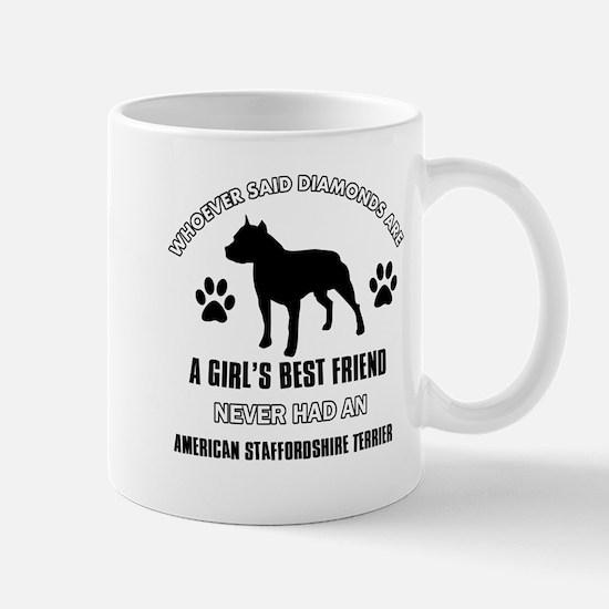 American Staffordshire Terrier Mommy designs Mug