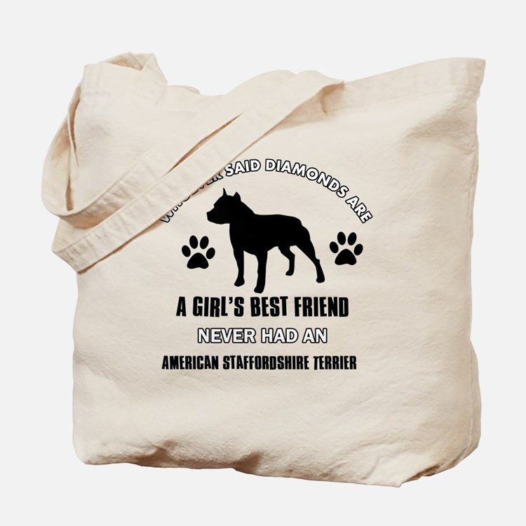 American Staffordshire Terrier Mommy designs Tote