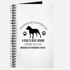 American Staffordshire Terrier Mommy designs Journ