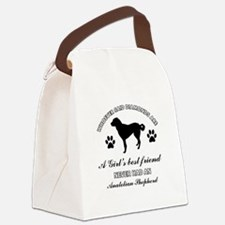 Anatolian Shepherd Mommy designs Canvas Lunch Bag