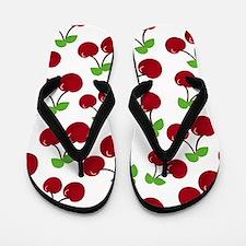 Cherries Flip Flops