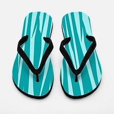 Chic Teal Flip Flops