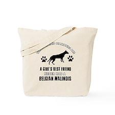 Belgian Malinois Mommy designs Tote Bag