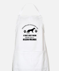 Belgian Malinois Mommy designs Apron